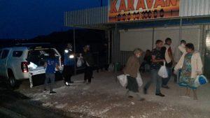Члены НВФ не пропустили в ОРДО 13 человек: как люди провели ночь в «серой зоне»