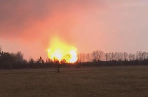 Лубны взрыв газа